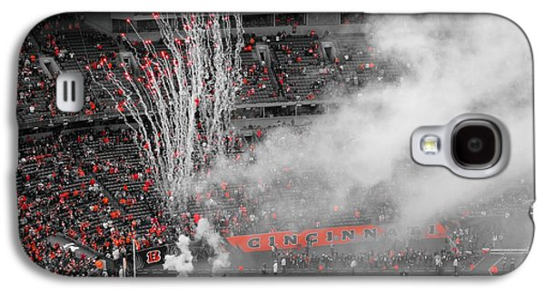 Espn Galaxy S4 Cases - Cincinnati Bengals Playoff Bound Galaxy S4 Case by Dan Sproul
