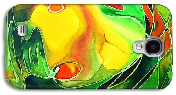 Nature Center Paintings Galaxy S4 Cases - Circa Galaxy S4 Case by Pat Purdy