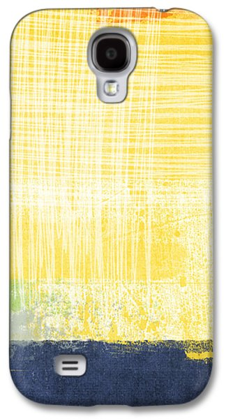 Sun Mixed Media Galaxy S4 Cases - Circadian Galaxy S4 Case by Linda Woods