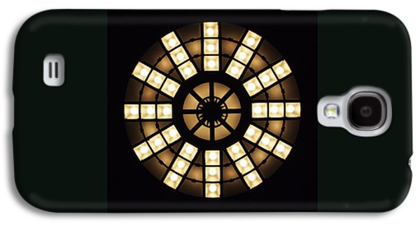 Compass Galaxy S4 Cases - Circle in a Square Galaxy S4 Case by Rona Black