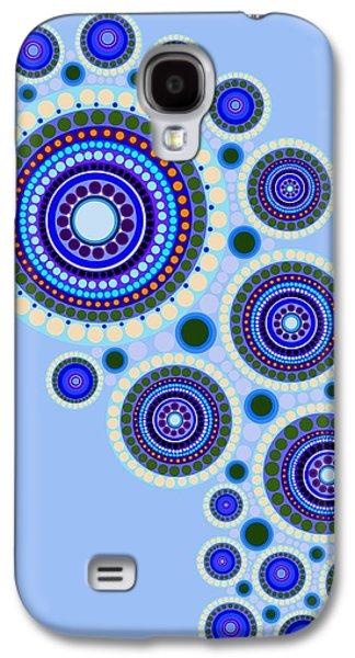 Circle Motif 117 Galaxy S4 Case by John F Metcalf