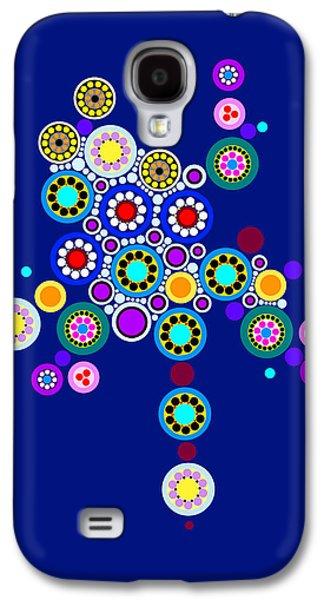"""geometric Art"" Galaxy S4 Cases - Circle Motif 249 Galaxy S4 Case by John F Metcalf"