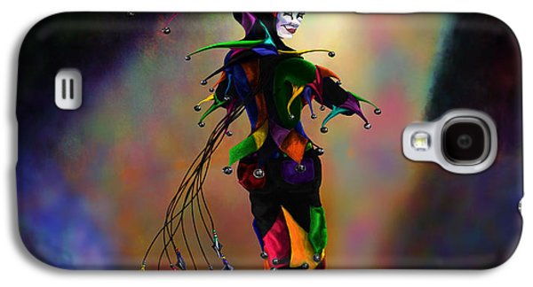 Juggling Galaxy S4 Cases - Cat O Nine Tails Galaxy S4 Case by Kd Neeley