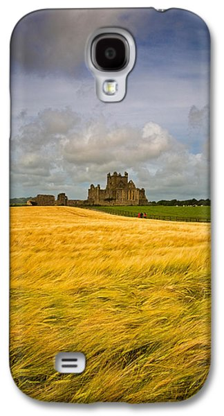 Farmscape Galaxy S4 Cases - Cistercian Dunbrody Abbey 1182 Galaxy S4 Case by Panoramic Images