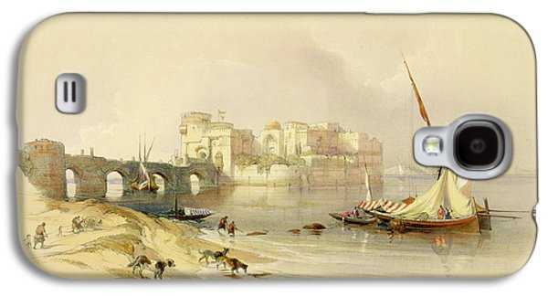 Orientalists Galaxy S4 Cases - Citadel of Sidon Galaxy S4 Case by David Roberts