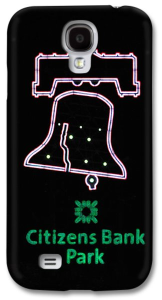 Phillie Galaxy S4 Cases - Citizens Bank Park Home Run Galaxy S4 Case by Lisa  Phillips