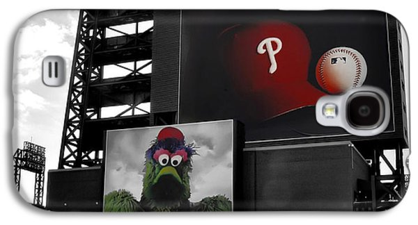 Phillies Digital Galaxy S4 Cases - Citizens Bank Park Philadelphia Galaxy S4 Case by Bill Cannon