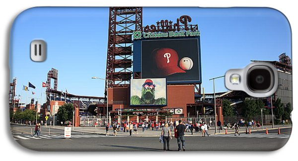 Veterans Stadium Galaxy S4 Cases - Citizens Bank Park - Philadelphia Phillies Galaxy S4 Case by Frank Romeo