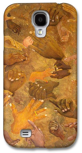 African-american Galaxy S4 Cases - Citizens of Earth Galaxy S4 Case by Pamela Allegretto