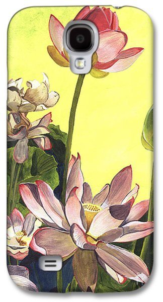 Blooms Galaxy S4 Cases - Citron Lotus 1 Galaxy S4 Case by Debbie DeWitt