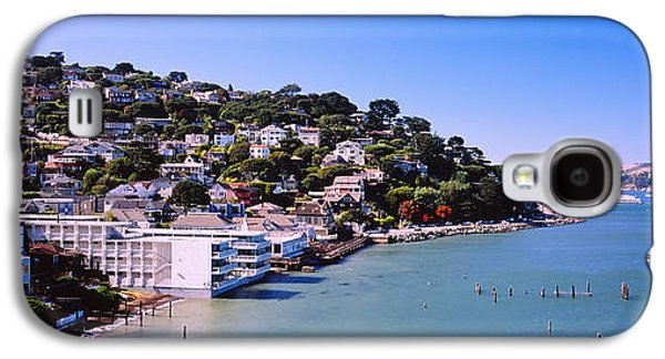 Sausalito Galaxy S4 Cases - City At The Coast, Sausalito, Marin Galaxy S4 Case by Panoramic Images