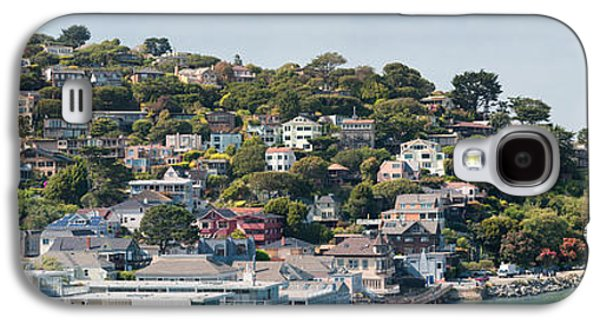 Sausalito Galaxy S4 Cases - City At The Waterfront, Sausalito Galaxy S4 Case by Panoramic Images