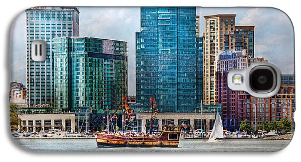 City - Baltimore Md - Harbor East  Galaxy S4 Case by Mike Savad
