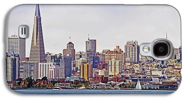Buildings By The Ocean Galaxy S4 Cases - City By The Bay Galaxy S4 Case by Sindi June Short