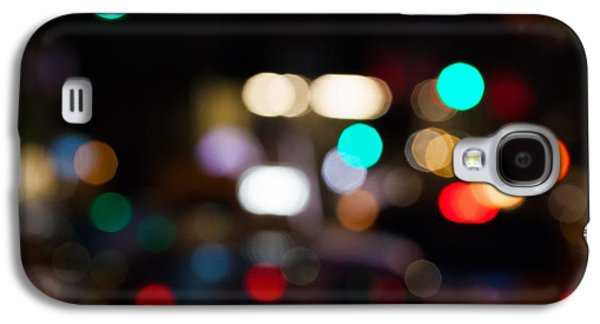 City Scene Galaxy S4 Cases - City Lights  Galaxy S4 Case by John Farnan