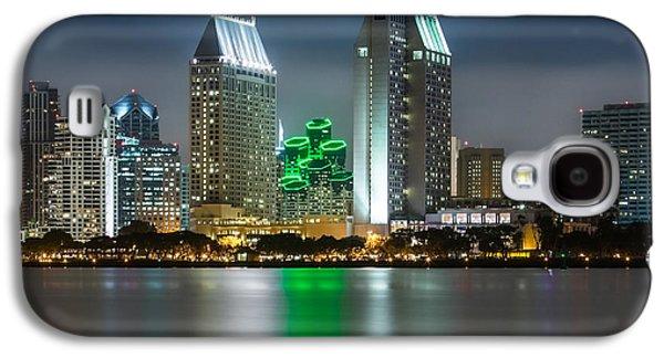 City Of San Diego Skyline 1 Galaxy S4 Case by Larry Marshall