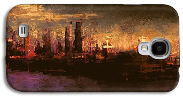 Emotion Mixed Media Galaxy S4 Cases - City On The Sea Galaxy S4 Case by LC Bailey