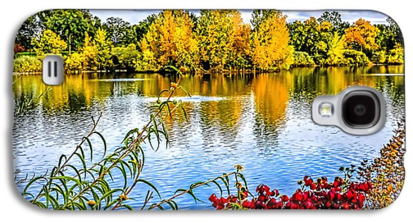 Fort Collins Galaxy S4 Cases - City Park Lake Galaxy S4 Case by Keith Ducker