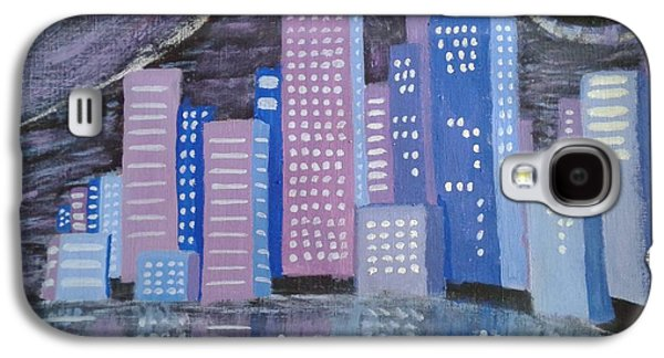 City Reflections Galaxy S4 Case by Erica  Darknell