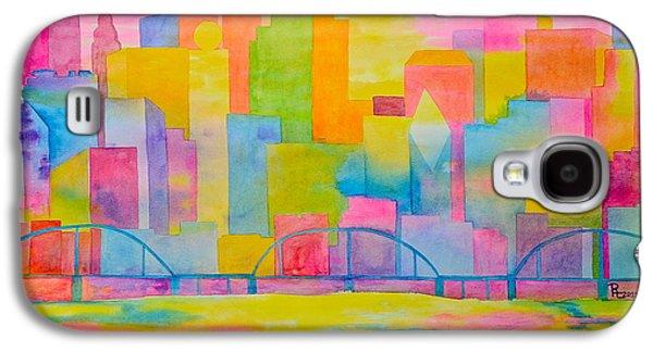 City To Dye For Galaxy S4 Case by Rhonda Leonard