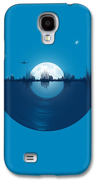 Tapestries Textiles Galaxy S4 Cases - City tunes Galaxy S4 Case by Neelanjana  Bandyopadhyay