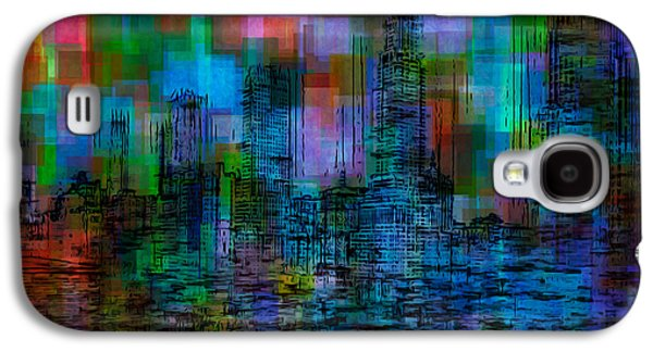 Painter Photo Galaxy S4 Cases - Cityscape 5 Galaxy S4 Case by Jack Zulli
