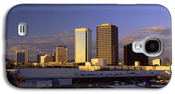 Business Galaxy S4 Cases - Cityscape Phoenix Az Galaxy S4 Case by Panoramic Images