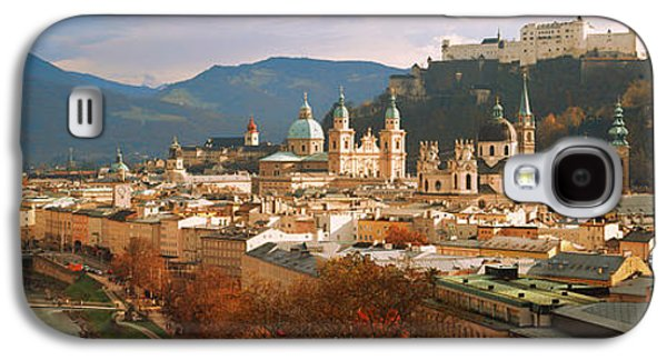 Salzburg Galaxy S4 Cases - Cityscape Salzburg Austria Galaxy S4 Case by Panoramic Images
