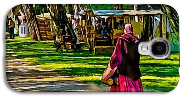 Historical Re-enactments Galaxy S4 Cases - Civil War Encampment  Galaxy S4 Case by  Bob Johnston