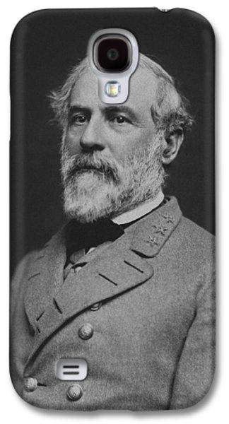 Civil War General Robert E Lee Galaxy S4 Case by War Is Hell Store