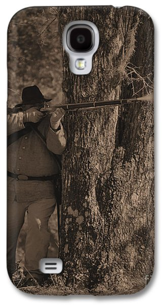 Historical Re-enactments Galaxy S4 Cases - Civil War Re Enactment 1 Galaxy S4 Case by Jocelyn Stephenson
