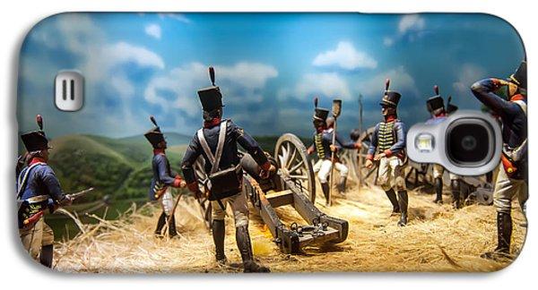Historical Re-enactments Galaxy S4 Cases - Civil War Reenactment Figures Galaxy S4 Case by Alexandr Grichenko