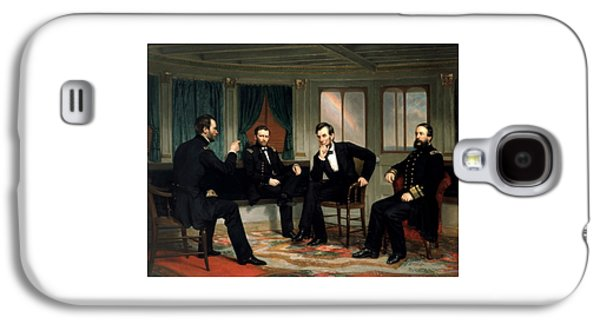Abraham Lincoln Galaxy S4 Cases - Civil War Union Leaders -- The Peacemakers Galaxy S4 Case by War Is Hell Store