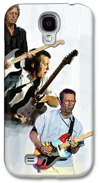 Eric Clapton Galaxy S4 Cases - Clapton Eric Clapton Galaxy S4 Case by Iconic Images Art Gallery David Pucciarelli