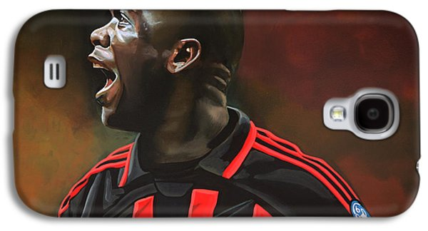 League Galaxy S4 Cases - Clarence Seedorf Galaxy S4 Case by Paul  Meijering