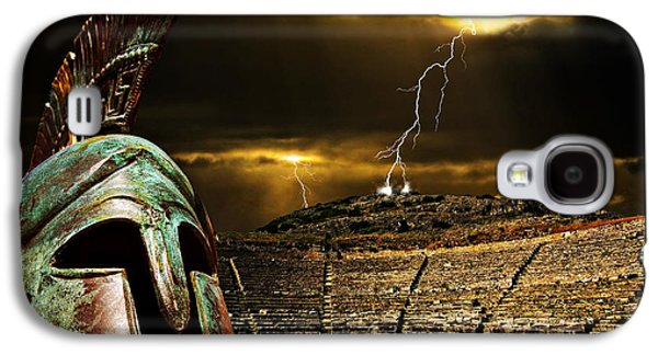 Clash Of The Titans Galaxy S4 Case by Meirion Matthias