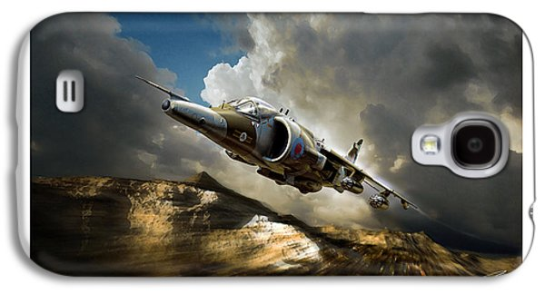 Iraq Prints Galaxy S4 Cases - Classic Harrier Galaxy S4 Case by Peter Van Stigt