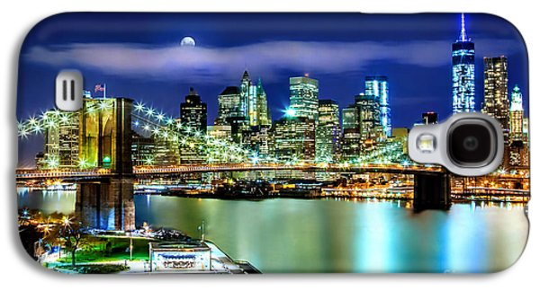 Trade Galaxy S4 Cases - Classic New York Skyline Galaxy S4 Case by Az Jackson