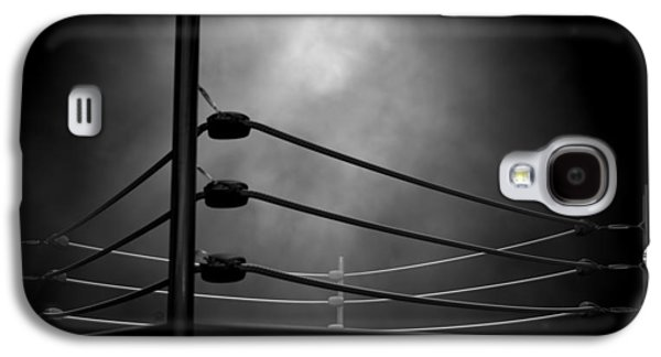 Boxing Digital Galaxy S4 Cases - Classic Vintage Boxing Ring Galaxy S4 Case by Allan Swart