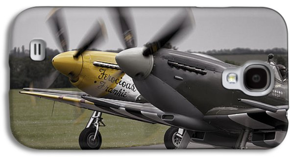 P51 Photographs Galaxy S4 Cases - Classic Warbirds Galaxy S4 Case by J Biggadike