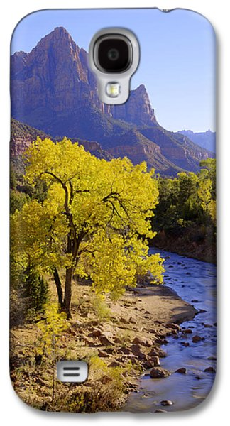 Southern Utah Galaxy S4 Cases - Classic Zion Galaxy S4 Case by Chad Dutson