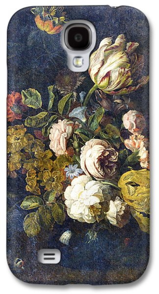 Floral Digital Digital Galaxy S4 Cases - Classical Bouquet - s0104t Galaxy S4 Case by Variance Collections
