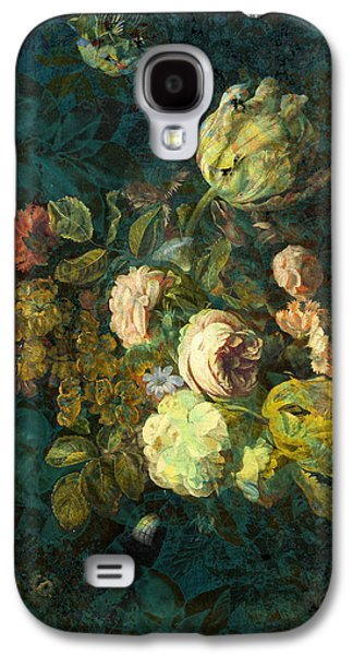 Floral Digital Digital Galaxy S4 Cases - Classical Bouquet - s04bt01 Galaxy S4 Case by Variance Collections
