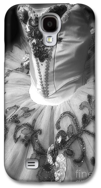 Dance Ballet Roses Galaxy S4 Cases - Classically Costumed X Monochrome Galaxy S4 Case by Cassandra Buckley