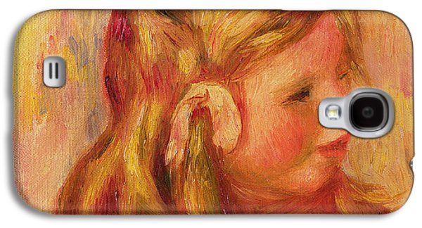 Youthful Galaxy S4 Cases - Claude Renoir Galaxy S4 Case by Pierre Auguste Renoir