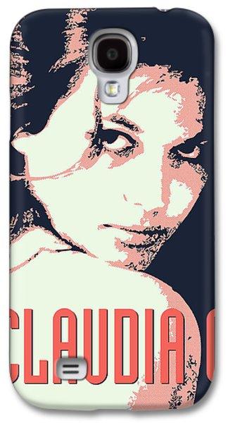 Sex Digital Galaxy S4 Cases - Claudia C Galaxy S4 Case by Chungkong Art