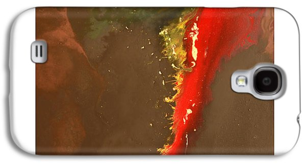 Abstract Digital Paintings Galaxy S4 Cases - Clean Cut Galaxy S4 Case by Craig Tinder