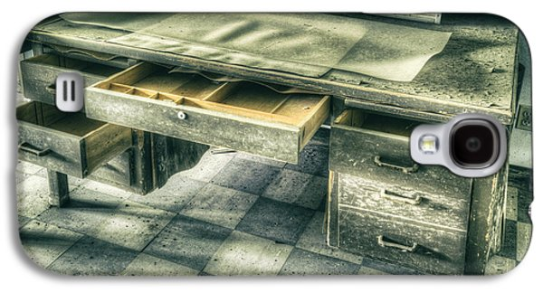 Schwartz Galaxy S4 Cases - Clean Out Your Desk Galaxy S4 Case by Donald Schwartz