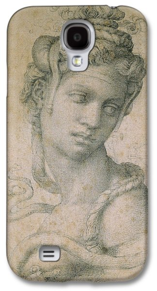 Portraits Pastels Galaxy S4 Cases - Cleopatra Galaxy S4 Case by Michelangelo