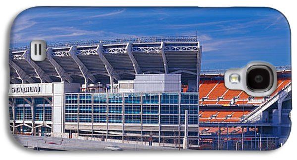 Sports Photographs Galaxy S4 Cases - Cleveland Browns Stadium Cleveland Oh Galaxy S4 Case by Panoramic Images